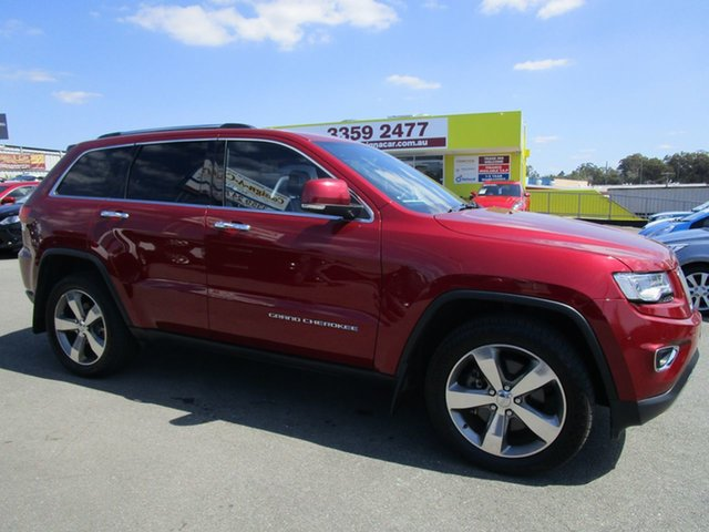 Used Jeep Grand Cherokee WK MY15 Limited Kedron, 2015 Jeep Grand Cherokee WK MY15 Limited Burgundy 8 Speed Sports Automatic Wagon