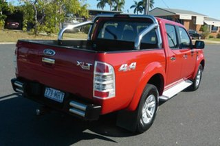 2009 Ford Ranger PK XLT Crew Cab Red 5 Speed Automatic Utility.