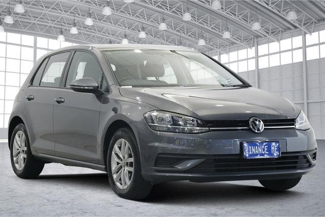 Used Volkswagen Golf 7.5 MY18 110TSI DSG Victoria Park, 2017 Volkswagen Golf 7.5 MY18 110TSI DSG Grey 7 Speed Sports Automatic Dual Clutch Hatchback