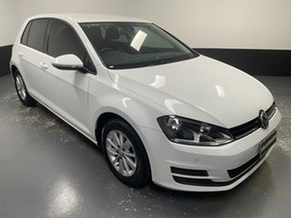 2016 Volkswagen Golf VII MY17 92TSI DSG Trendline White 7 Speed Sports Automatic Dual Clutch.