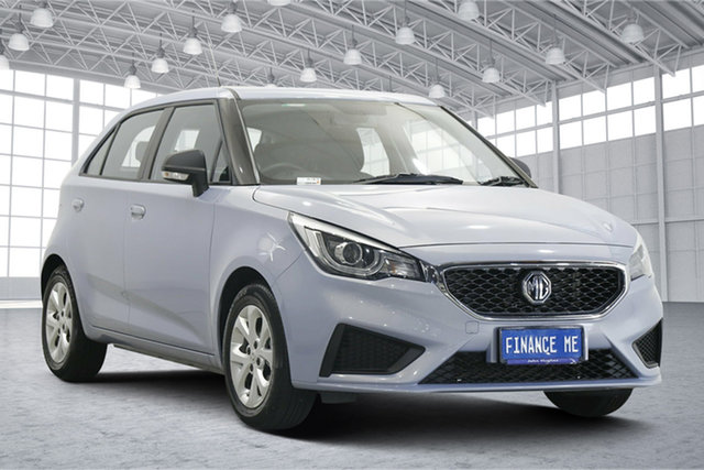 Used MG MG3 SZP1 MY21 Core Victoria Park, 2021 MG MG3 SZP1 MY21 Core Skyfall Silver 4 Speed Automatic Hatchback