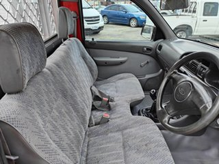 1999 Ford Courier PE GL 4x2 Red 5 Speed Manual Cab Chassis