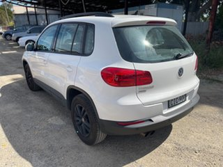2012 Volkswagen Tiguan 5N MY12.5 132TSI Tiptronic 4MOTION Pacific White 6 Speed Sports Automatic.