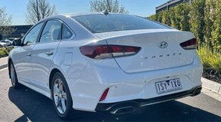 2018 Hyundai Sonata LF4 MY19 Active White 6 Speed Sports Automatic Sedan.