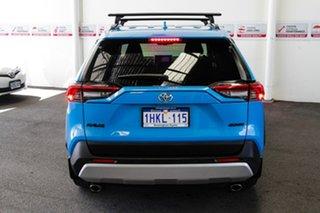2019 Toyota RAV4 Axaa54R Edge AWD Eclectic Blue 8 Speed Sports Automatic Wagon