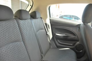 2012 Mitsubishi Mirage White Hatchback