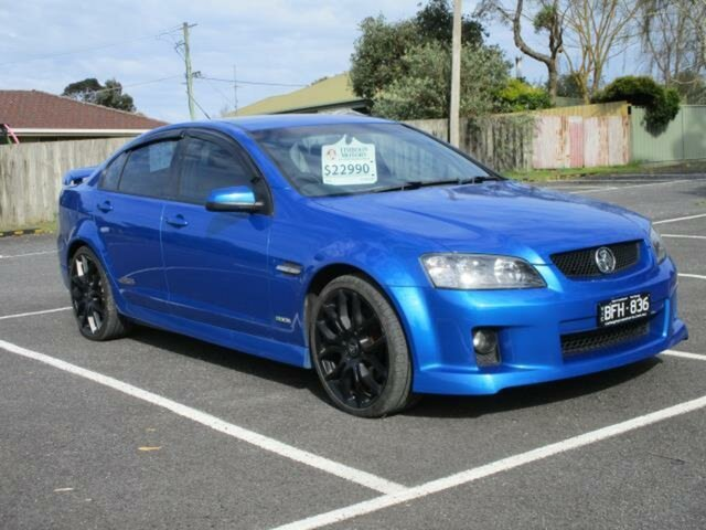 Used Holden Commodore VE SS V Timboon, 2009 Holden Commodore VE SS V Voodoo Blue Automatic Sedan