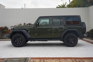 2021 Jeep Wrangler JL MY21 Unlimited Willys Velvet Red 8 Speed Automatic Hardtop