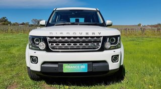 2016 Land Rover Discovery Series 4 L319 MY16.5 SDV6 SE White 8 Speed Sports Automatic Wagon.