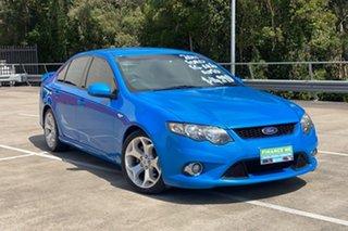 2011 Ford Falcon FG Upgrade XR6 Blue 6 Speed Auto Seq Sportshift Sedan.