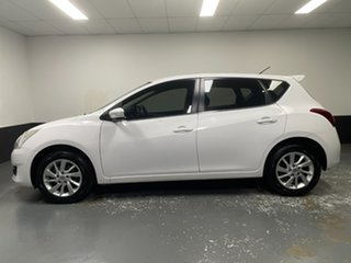 2015 Nissan Pulsar C12 Series 2 ST-L White 1 Speed Constant Variable Hatchback