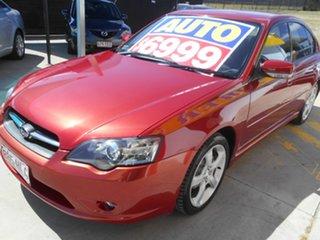 2003 Subaru Liberty B4 MY04 AWD Maroon 4 Speed Sports Automatic Sedan.