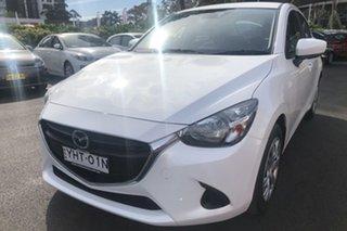 2017 Mazda 2 DJ MY17 Neo White 6 Speed Automatic Hatchback