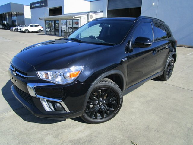 Used Mitsubishi ASX XC MY19 Black Edition 2WD Caboolture, 2018 Mitsubishi ASX XC MY19 Black Edition 2WD Black 1 Speed Constant Variable Wagon