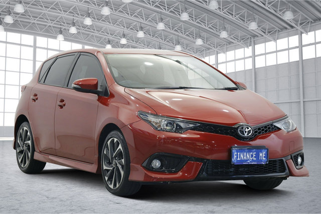 Used Toyota Corolla ZRE182R Ascent Sport S-CVT Victoria Park, 2015 Toyota Corolla ZRE182R Ascent Sport S-CVT Red 7 Speed Constant Variable Hatchback