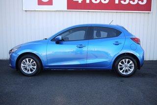 2014 Mazda 2 DJ2HAA Maxx SKYACTIV-Drive Blue 6 Speed Sports Automatic Hatchback