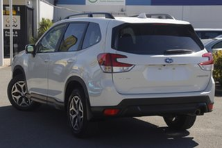 2018 Subaru Forester S5 MY19 2.5i CVT AWD Crystal White Pearl 7 Speed Constant Variable Wagon.