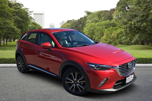 Used Mazda CX-3 DK2W7A Akari SKYACTIV-Drive Paradise, 2015 Mazda CX-3 DK2W7A Akari SKYACTIV-Drive Red 6 Speed Sports Automatic Wagon