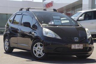 2009 Honda Jazz GE MY09 VTi-S Black 5 Speed Manual Hatchback.