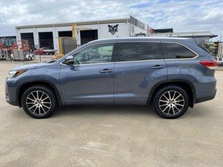 2018 Toyota Kluger GSU55R Grande AWD Blue 8 Speed Sports Automatic Wagon