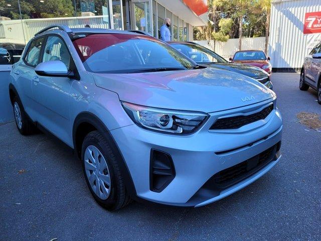 Demo Kia Stonic YB MY22 S FWD Reynella, 2021 Kia Stonic YB MY22 S FWD Silver 6 Speed Automatic Wagon