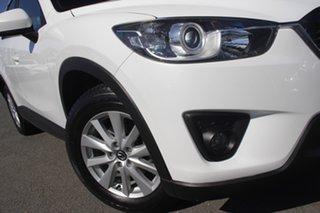 2012 Mazda CX-5 KE1071 Maxx SKYACTIV-Drive AWD Sport Crystal White Pearl 6 Speed Sports Automatic.