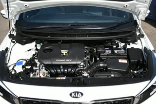 2017 Kia Cerato YD MY17 S White 6 Speed Auto Seq Sportshift Hatchback