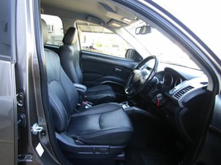 2011 Mitsubishi Outlander ZH MY12 Platinum 2WD Brown 6 Speed Constant Variable Wagon