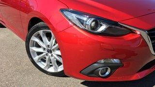 2015 Mazda 3 BM5438 SP25 SKYACTIV-Drive GT Red 6 Speed Sports Automatic Hatchback.