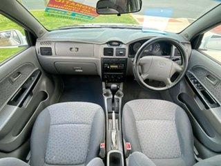 2005 Kia Rio MY04 LS White 4 Speed Automatic Sedan