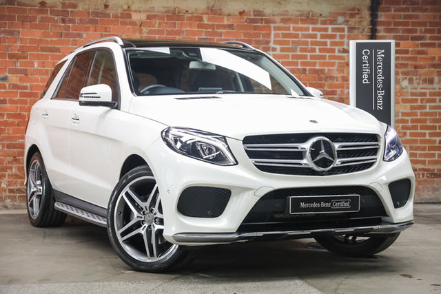 Certified Pre-Owned Mercedes-Benz GLE-Class W166 807MY GLE350 d 9G-Tronic 4MATIC Mulgrave, 2017 Mercedes-Benz GLE-Class W166 807MY GLE350 d 9G-Tronic 4MATIC Diamond White 9 Speed