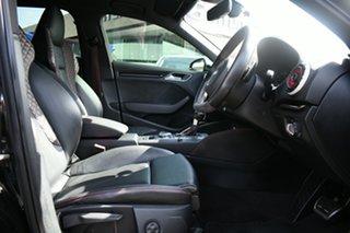 2015 Audi RS 3 8V Sportback Quattro Black 7 Speed Auto Dual Clutch Hatchback