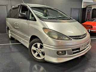 2002 Toyota Avensis Verso ACM20R GLX Metallic Silver 4 Speed Automatic Wagon.