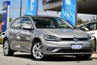 2020 Volkswagen Golf 7.5 MY20 110TSI DSG Highline Silver 7 Speed Sports Automatic Dual Clutch.