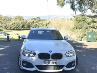 2017 BMW 1 Series F20 LCI 120i Steptronic M Sport White 8 Speed Sports Automatic Hatchback.