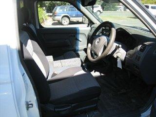 2001 Nissan Navara D22 DX (4x4) White 5 Speed Manual 4x4 Cab Chassis