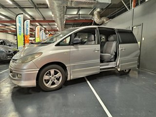 2002 Toyota Avensis Verso ACM20R GLX Metallic Silver 4 Speed Automatic Wagon