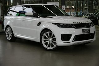 2019 Land Rover Range Rover Sport L494 19.5MY SE White 8 Speed Sports Automatic Wagon.