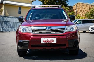 2010 Subaru Forester S3 MY10 X AWD Red 4 Speed Sports Automatic Wagon.