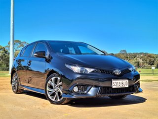 2015 Toyota Corolla ZRE182R SX S-CVT Black 7 Speed Constant Variable Hatchback.