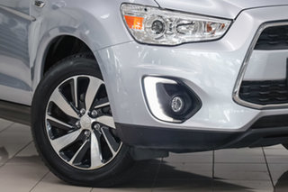 2014 Mitsubishi ASX XB MY15 LS 2WD Silver 6 Speed Constant Variable Wagon