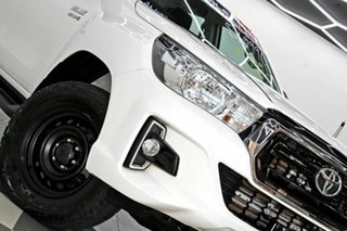2019 Toyota Hilux GUN126R MY19 SR (4x4) White 6 Speed Automatic Double Cab Pick Up.