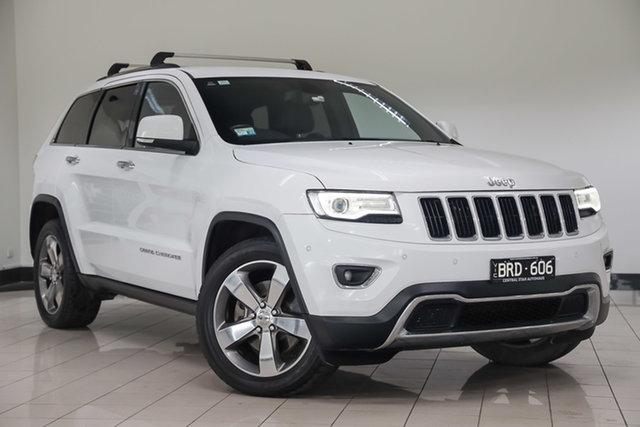 Used Jeep Grand Cherokee WK MY15 Limited , 2015 Jeep Grand Cherokee WK MY15 Limited White 8 Speed Sports Automatic Wagon