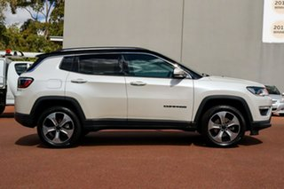 2018 Jeep Compass M6 MY18 Limited White 9 Speed Automatic Wagon.