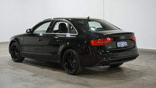 2014 Audi A4 B8 8K MY15 S Line Multitronic Black 8 Speed Constant Variable Sedan.