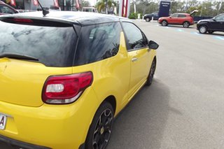 2010 Citroen DS3 DStyle Yellow 4 Speed Sports Automatic Hatchback.