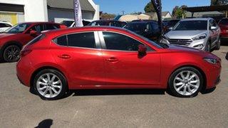 2015 Mazda 3 BM5438 SP25 SKYACTIV-Drive GT Red 6 Speed Sports Automatic Hatchback