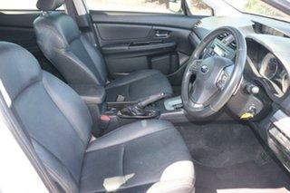 2014 Subaru Impreza G4 MY14 2.0i Lineartronic AWD Satin White 6 Speed Constant Variable Hatchback