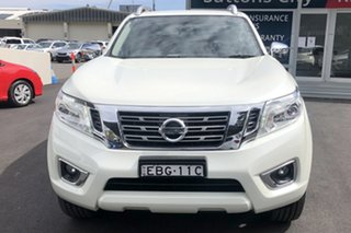 2018 Nissan Navara D23 Series III MY18 ST-X (4x4) (Leather Trim) White 7 Speed Automatic.
