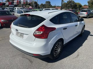 2011 Ford Focus LW Ambiente White 5 Speed Manual Hatchback